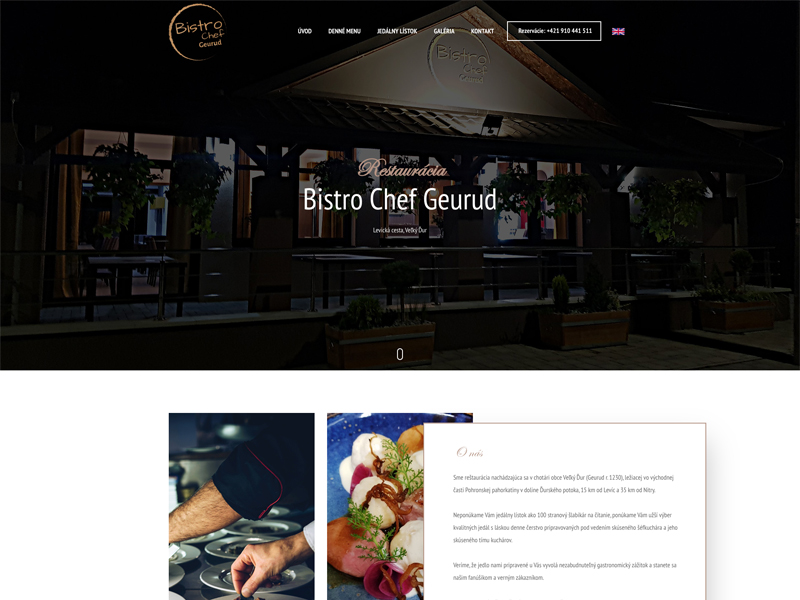 web Bistro Chef Geurud