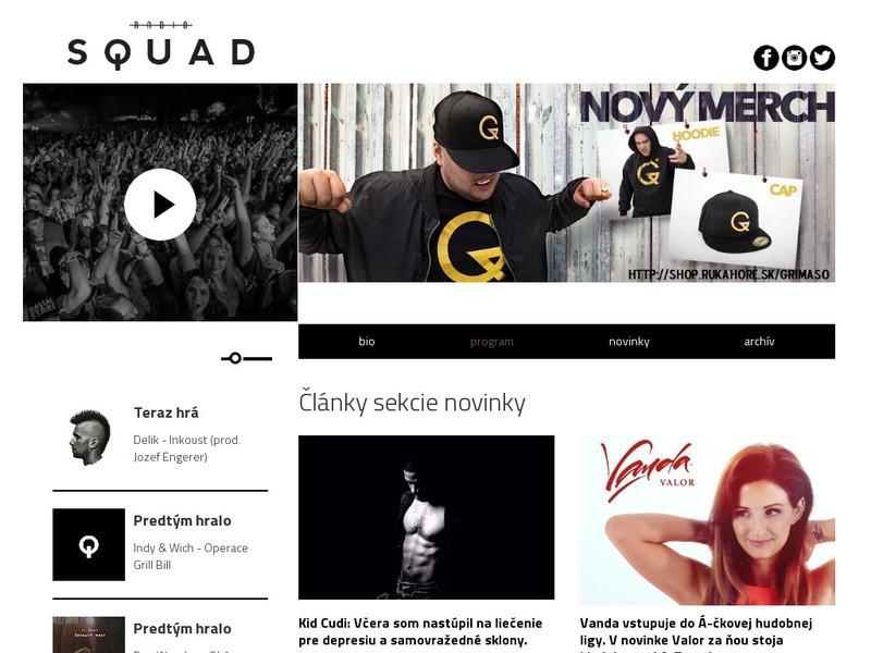 web radio SQUAD