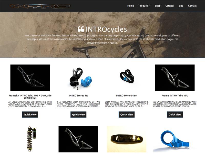 e-shop introcycles