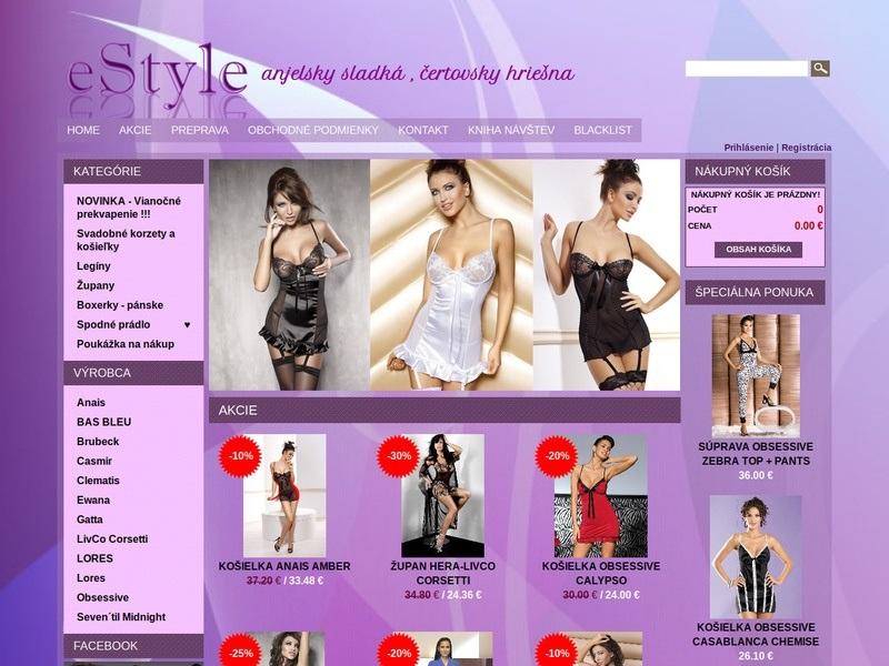 e-shop eStyle